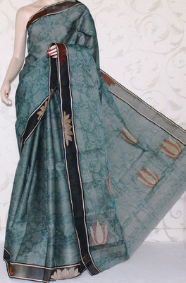 Bengal Handloom Tant Cotton Saree (With Blouse)