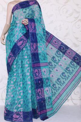 Bengal Handloom Tant Cotton Saree (Without Blouse)