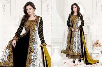 Styloce Multi Color Designer Salwar Kameez .STY-103-402