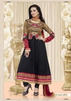 Styloce Black Color Designer Salwar Kameez .STY-105-203