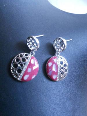 RED Earrings-06095