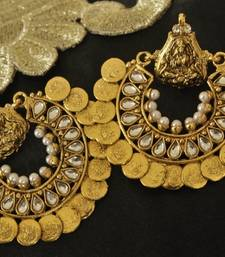 Buy Ram Leela Kundan Earrings hoop online