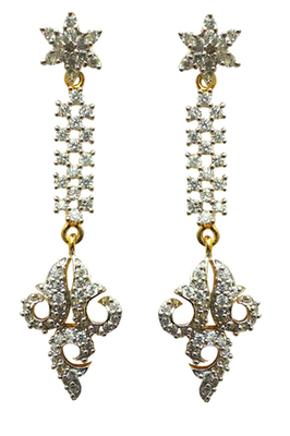 Vatika beautiful american diamond earring