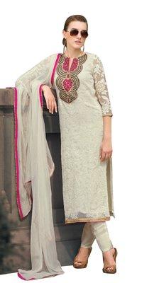 Remarkable Embroidered Chiffon Salwar Kameez