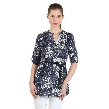 Blue tunic stitched kurti