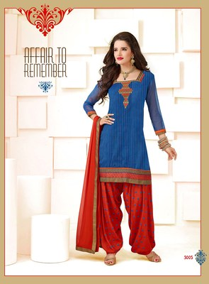 Ready-made Suit with Dupatta