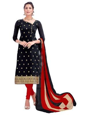 Black ebroidered banarsi salwar with dupatta