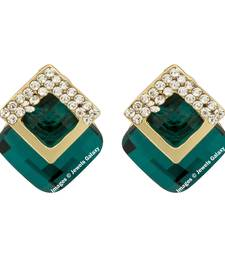 Buy Green emerald  earrings jewellery-below-500 online