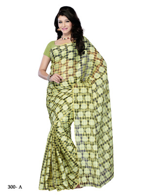 Beige Color Net Party Wear Fancy Designer Saree