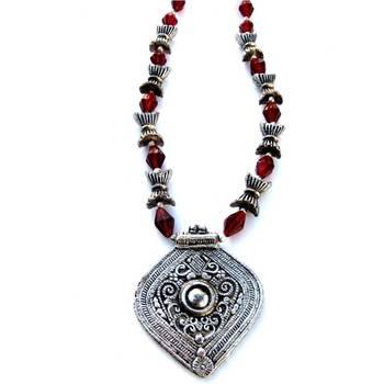 Handmade pendant: Brown/036