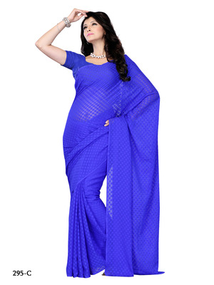 Blue Color Jacquard Party Wear Fancy Designer Saree