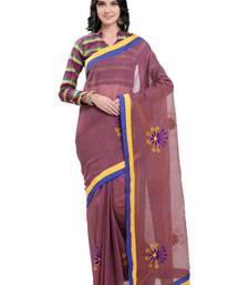 Jamli kota cotton kota doria work saree with blouse