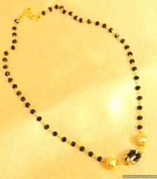 Meenakari Gold Bead Mangalsutra