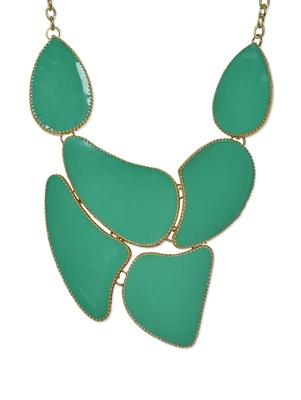 Sea Green Bold Neckpiece