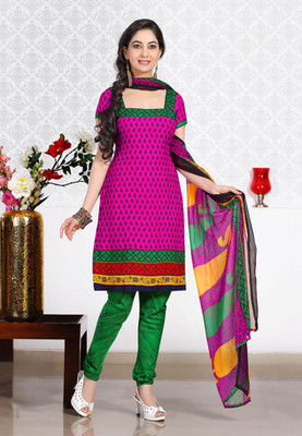MAGENTA Fancy Ladies Suits with matching duppata DG2737