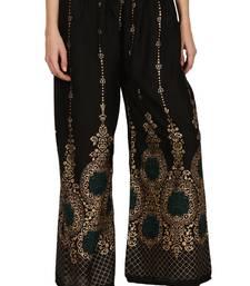 Buy Hand block print pure rayon plazo pants for women/girls women-ethnic-wear online