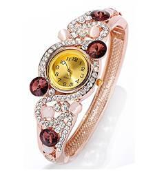 Buy Brown cubic zirconia bracelets karva-chauth-gift online