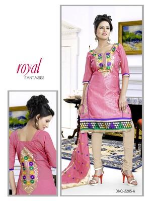 Pink Color Designer salwar Kameez