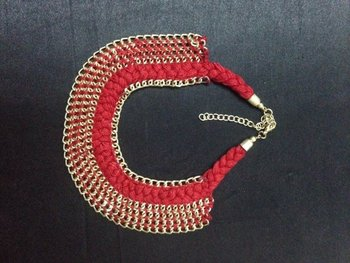 Red Threa d Necklace