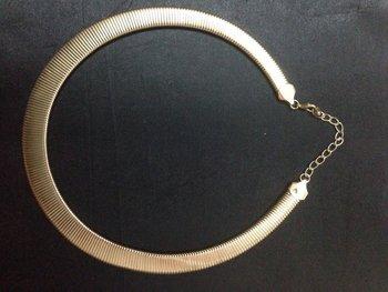 Snake gold Necklace