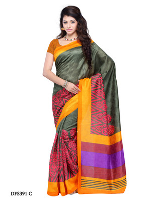 Multi Color Color Jacquard Party Wear Fancy Saree
