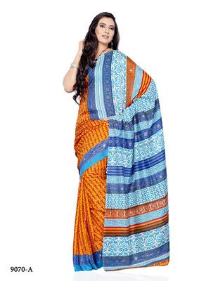 Multi Color Jacquard FestivalCasual Wear Saree