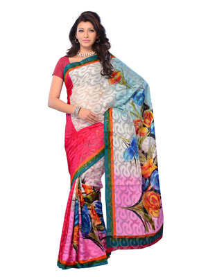 Multi Color Jacquard Party Wear Fancy Designer Saree
