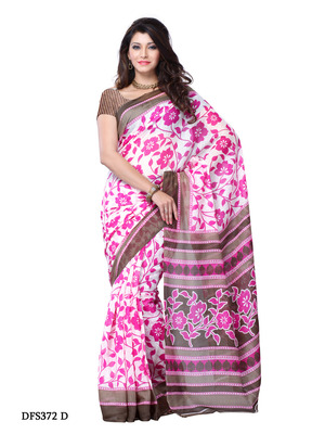 Pink Color Art Silk Party Wear Fancy Saree