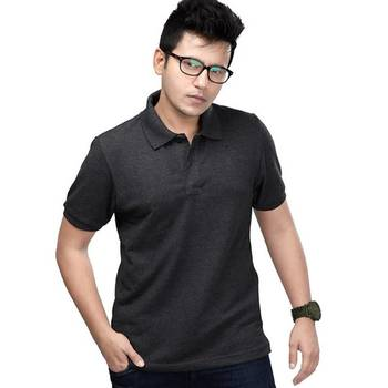 Elephant Grey : Premium Polo