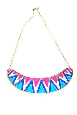 Colourful Enamel necklace