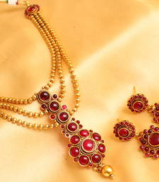 Buy GORGEOUS ELEGANT NECKLACE SET necklace-set online