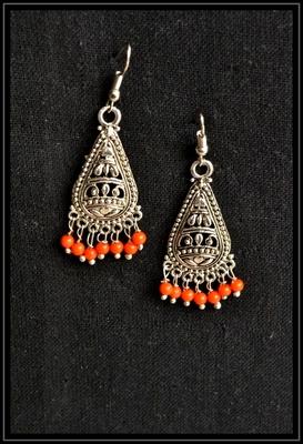 Silver Designer Dangler Earrings