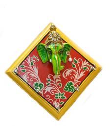Buy Ganpati Wall Hanging Key Holder Small wall-decal online