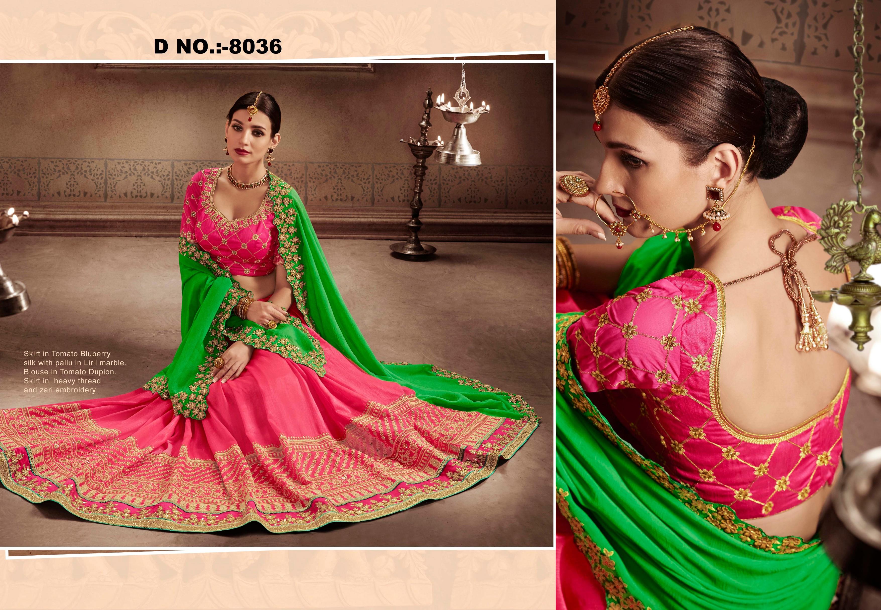 e9e400818e2972 Multicolor embroidered silk saree with blouse - Shree Sai Trading - 2164474