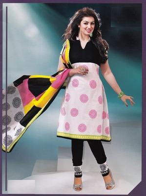 Dazzling Multi Color  Printed Cotton Dress Material D.No DP2331