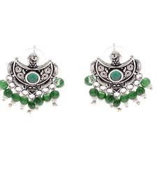 Buy Green diamond earrings jewellery-below-300 online
