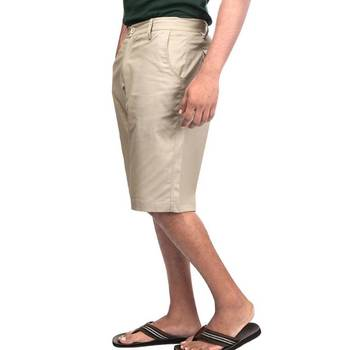 Boardroom Beige : Shorts: Relaxed Fit