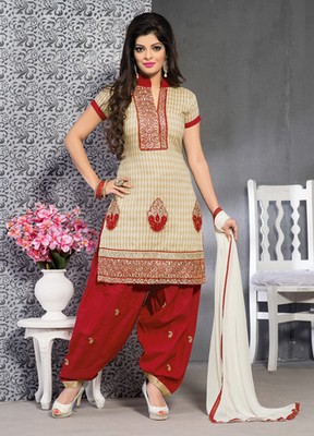 beige Ladies Suits in designer style