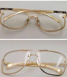 Buy GOLD TRANSFERER SUNGLASSES sunglass online