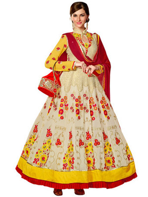 beautiful anarkali style dress