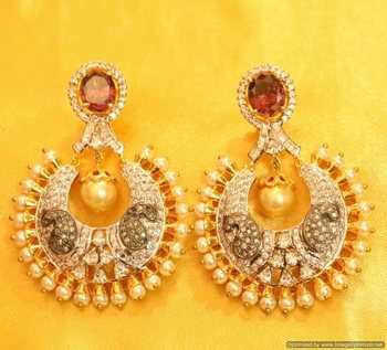 Victorian Look Chaand Baali Earrings