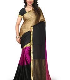 Buy Pink art silk saree with blouse below-1500 online