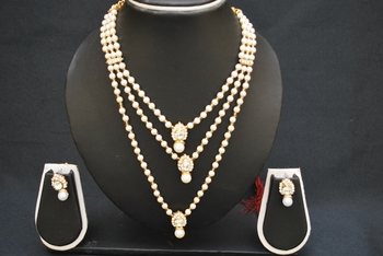 Multilayer Pearls necklace set