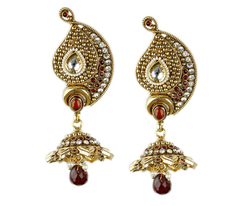 Beautiful  Gold Danglers- Drops
