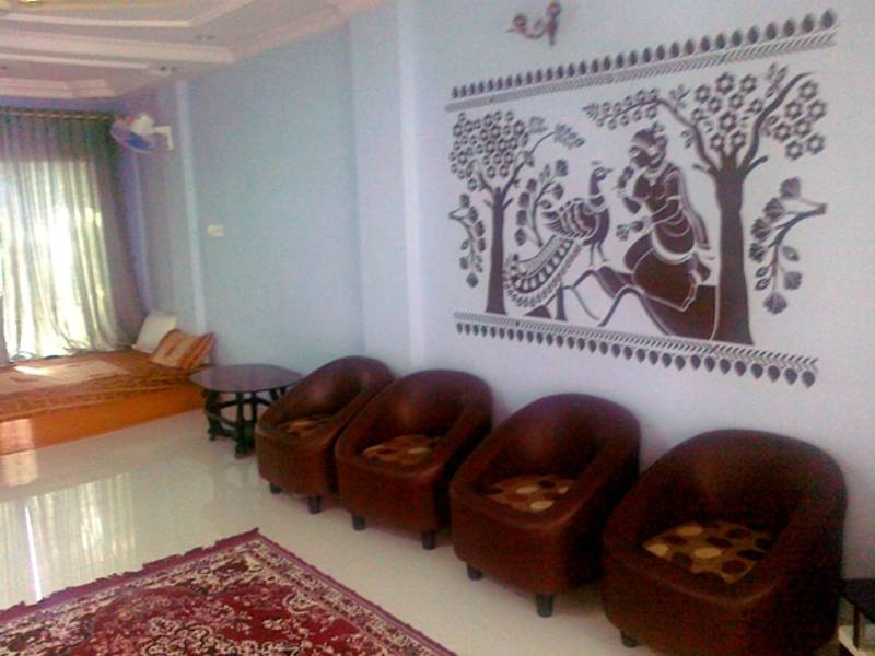 Ashok Vatika Ethnic Indian Wall Decal