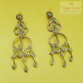 Antique Style Victorian Chandelier Earrings
