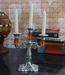 Buy Decorative Orange Candle stand candle online