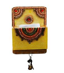 Buy Papier-Mache Key Holder with Mail Organizer wall-art online