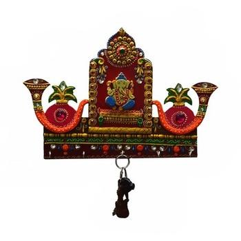 Lord Ganesha with Shehnai Key Holder