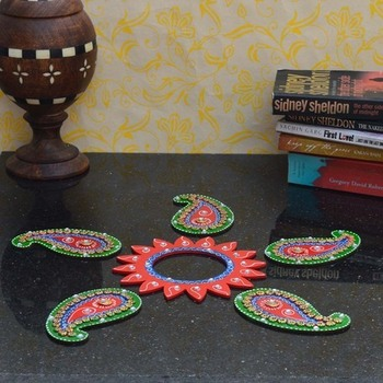 Decorative Floor Rangoli - Keri Design